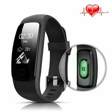 Fitness Tracker,LASUAVY Fitness Tracker with Heart Rate Monitor/ Step Counter/14