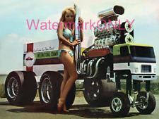 "Big Rig Semi ""Zinger"" ISCA Show Cars Promotion Car & Bikini Babe PHOTO! #(2)"