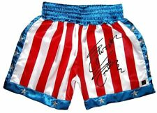 Sylvester Stallone Rocky Balboa Autographed ROCKY IV Boxing Trunks ASI Proof