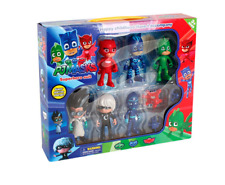 6pcs PJ Catboy Owlette Gekko Cloak Masks Toy Kids Action Figure Set Gift Toys