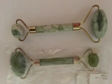 "Jade Stone Facial Roller Massage Cooling 6"" NEW"