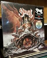 Ghost Prequelle LP  Colored vinyl limited edition coke clear RECORD SEALED