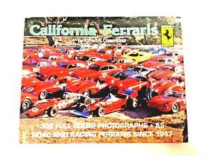 California Ferrari Book By Al Alfred Cosentino Ferraris -USED- #1004