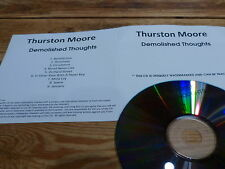 Thurston Moore - Demolished Thoughts - MATADOR!!!!RARE CD PROMO FRANCE