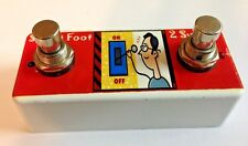 Mesa Boogie Lone Star Footswitch W/LED's HANDMADE IN USA by sweetfootpedals.com