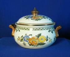 Villeroy & Boch Germany Alt. Amsterdam White Covered Metal Casserole bfe2441