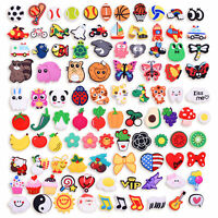 100PCS Fruit Music Animal Ball Shoes Charms fit Clog Shoes Bracelets Kids Gifts
