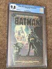 Batman Official Motion Picture Comic Adaptation CGC 9.8 Prestige Format 1989 WP