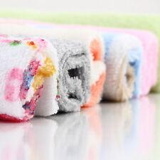8Pcs Baby Infant Newborn Bath Towel Washcloth Bathing Feeding Wipe Cloth Soft V