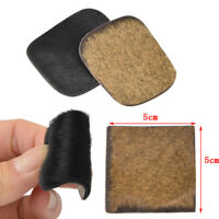 5pcs Traditional Arrow Rest Cow Skin Leather Adhesive Archery RecurveBow Longbow