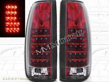 1988-1999 GMC CHEVY CK FULL SIZE SIERRA C10 TRUCK TAIL LIGHTS LED RED
