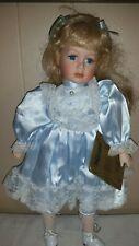 "Seymour Mann Limited Edition Connoisseur Collection Porcelain 16"" Doll Elaine"