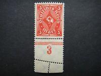 Germany 1921 1922 1923 ERROR Stamp MNH Wmk Post Horn Deutsches Reich German Deut