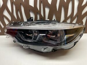 BMW 4 M3 M4 F32 LCI HEADLIGHT LED ADAPTIVE 63117478159 OEM 2018 2019 2020 2021