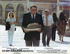 CLAUDE BRASSEUR  ILS SONT GRANDS CES PETITS 1979 VINTAGE LOBBY CARD #14