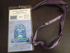 Breeders Cup 2007 Monmouth Park Horse Racing Ticket with Holder