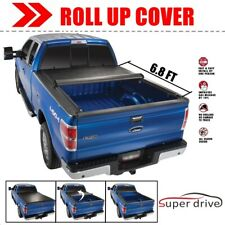 "1999-2007 Ford F250/F350HD Short Bed 6'8"" Vinyl Roll up Soft Tonneau Bed Cover"