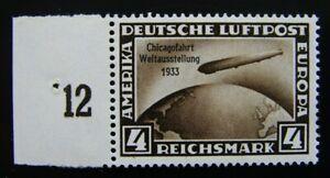 Deutsches Reich   Michel-Nr. 498   Zeppelin    postfrisch