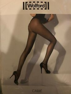 Wolford Carre Tights Color: Blue Ink Size: Extra-Small 18769 - 12