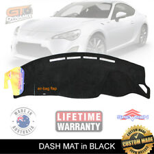DASH MAT to Suit TOYOTA 86 GT June/2012-2019 All Models DM1272 in BLACK