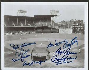 1955 Brooklyn Dodgers Team Hand Signed 8x10 B/W Photo *9 AUTOS*