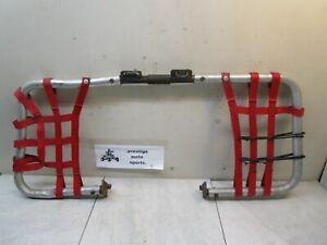 DG NERF BARS ! 93-09 honda 300ex trx trx300ex 250x 300x foot pegs nets guards