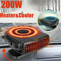 12V Car Auto Portable Electric Heater Heating Cooling Fan Defroster Demister US