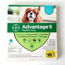 Bayer Advantage Ii For Medium Dog 11-20 lbs 4 Monthly Doses - Flea Treatment