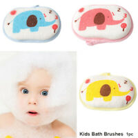 Cotton Rubbing Body  Bath Sponge  Kids Bath Brushes Baby Shower Rub Infant