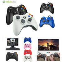 Wireless/Wired USB Controller Gamepad for Microsoft Xbox 360 & 360 Slim &PC -US