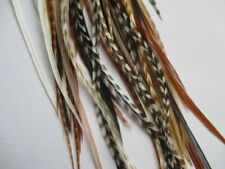 Feather Hair Extensions 20 long  real natural feathers 6-11""