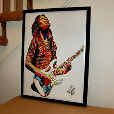 Steve Vai Guitar Player Hard Rock Heavy Metal Music 18x24 Poster Print Wall Art