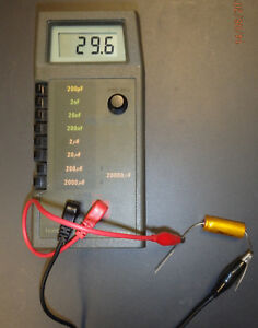 Capacitance Meter Duncan DI200C Wide-Ranging pf to 20,000uf