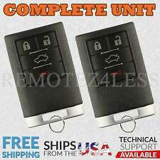 2 For 2010 2011 2012 2013 Chevrolet Impala Keyless Entry Remote Car Key Fob