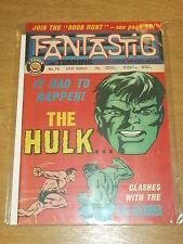 FANTASTIC #76 BRITISH WEEKLY 27TH JULY 1968 HULK SUB-MARINER^