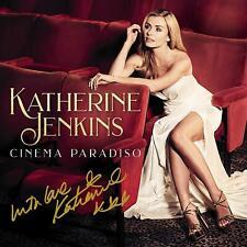 KATHERINE JENKINS CINEMA PARADISO SIGNED AUTOGRAPHED CD NEW BN RARE 17 APRIL 10