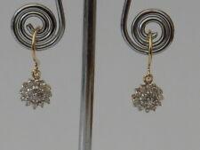 BEAUTIFUL NEW 9 CT GOLD 0.33 CARAT DIAMOND EARRINGS ER5217