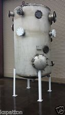 1,150 Gallon Ss Pressure Rated Tank, Dome Top Dish Bottom
