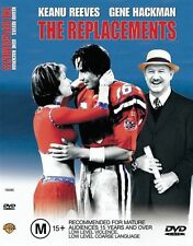 The Replacements Keanu Reeves Gene Hackman Amer Football DVD GENUINE R4 RARE VGC