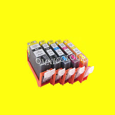 5 REFILLABLE ink CARTRIDGE FOR CANON PGI-520 CLI-521, iP4600 compatible