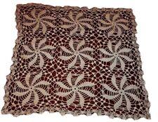Antique Lace Doily Dizzy Pinwheel Crochet Home Decor Tables Collect