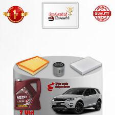 Kit Inspección Filtros Y Aceite Tierra Rover Discovery Sport 2.0 SI4 177KW 241CV
