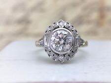 For Women In 925 Sterlin Silver Vintage Design Beautiful Engagement Wedding Ring