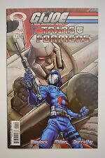 G.I. Joe vs. Transfomers #1B Comic Book, 2003, Great Condition, Megatron, Cobra