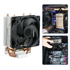 Quiet CPU Dual Looped Cooler Fan for LGA 1366/1150/1155/1156/775 AMD 3/2/754
