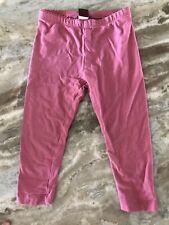 Tea Collection Toddler Girl Pink Leggings Size 2T