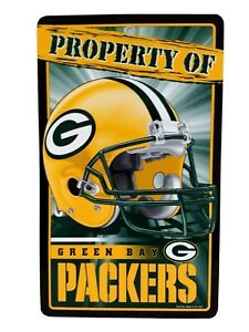 """Green Bay Packers Sign 12"""" X 71/2"""" by WinCraft Made in the U.S.A New"""