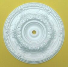 50 CM Ceiling Rose Size 'DOWNTON' Ceiling Rose Polystyrene Easy Fit Lightweight