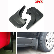 2Pcs Car Truck Modified Mudflaps Splash Guards Fender with Accessories Black ABS