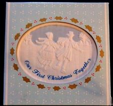 Our First Christmas Together * Christmas Reminiscence * Porcelain Ornaments * Ru